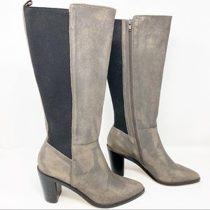 Corso Como Huey Calf Boot Leather Gray NEW 8.5